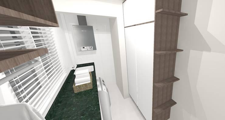 Apartamento FH: Cozinhas modernas por INOVAT Arquitetura e interiores