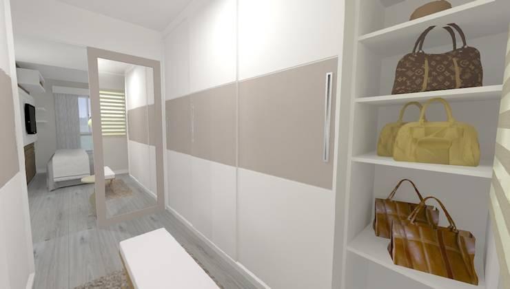 Apartamento FH: Closets modernos por INOVAT Arquitetura e interiores