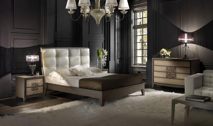 Dormitorios de estilo moderno de Moletta Mobili