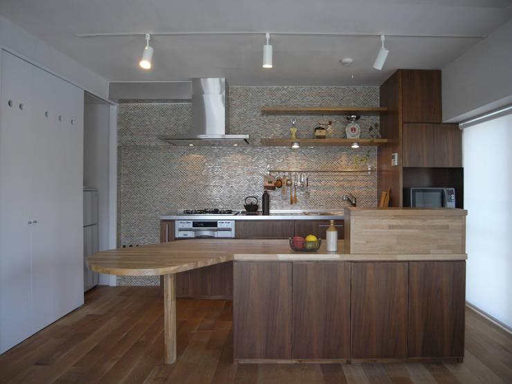 Projekty,  Kuchnia zaprojektowane przez ヤマトヒロミ設計室