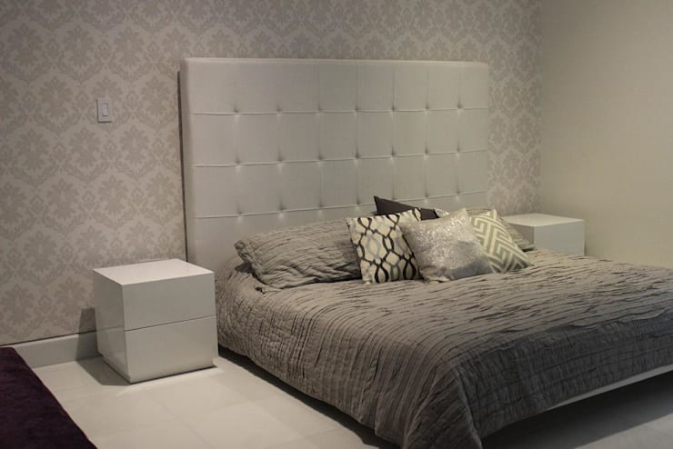BALUARTE: Habitaciones de estilo  por RCRD Studio