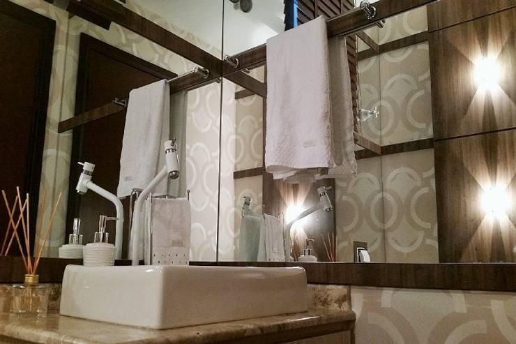 Residência RD: Banheiros  por INOVAT Arquitetura e interiores