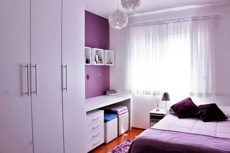 Residência RD: Quartos  por INOVAT Arquitetura e interiores
