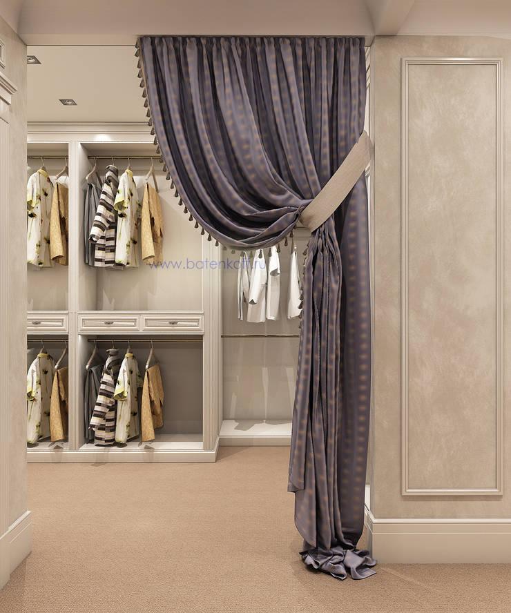 Дизайн проект гардеробных в квартире в городе Москва : Гардеробные в . Автор – Дизайн студия 'Дизайнер интерьера № 1',