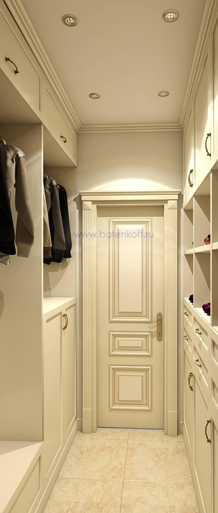 Дизайн проект гардеробных в квартире в городе Москва : Гостиная в . Автор – Дизайн студия 'Дизайнер интерьера № 1',