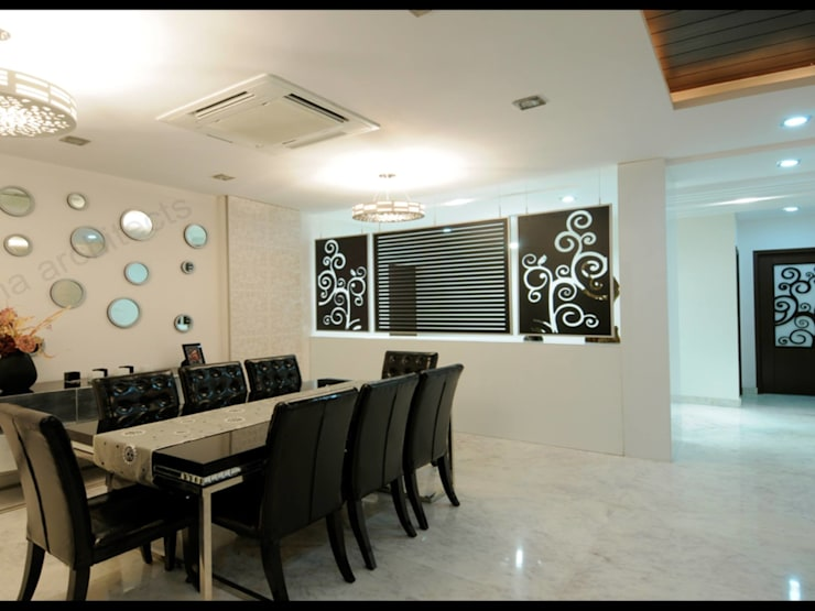 Residential project:  Dining room by NA ARCHITECTS