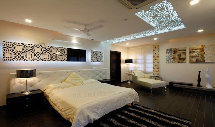 Residential project:  Bedroom by NA ARCHITECTS