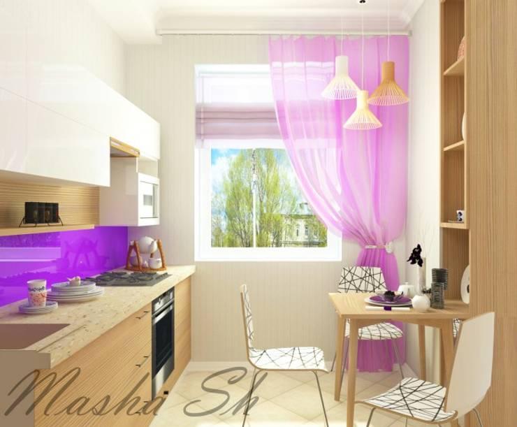 Яркая кухня: Кухни в . Автор – MARIYA SHEVCHENKO