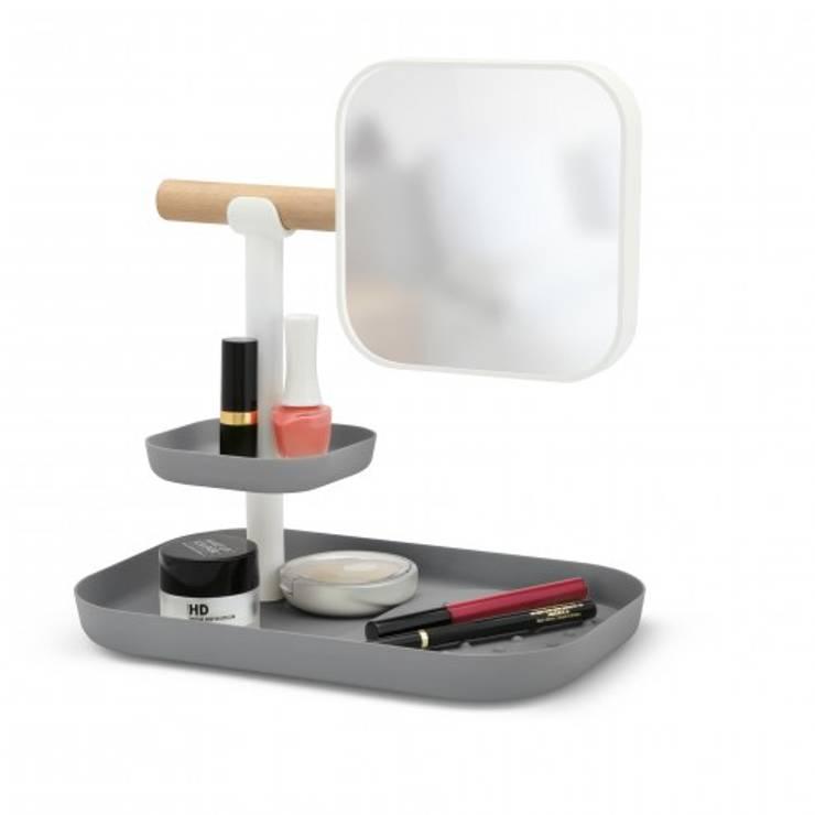 Органайзер с зеркалом Vana серый:  в современный. Автор – Enjoyme, Модерн Пластик