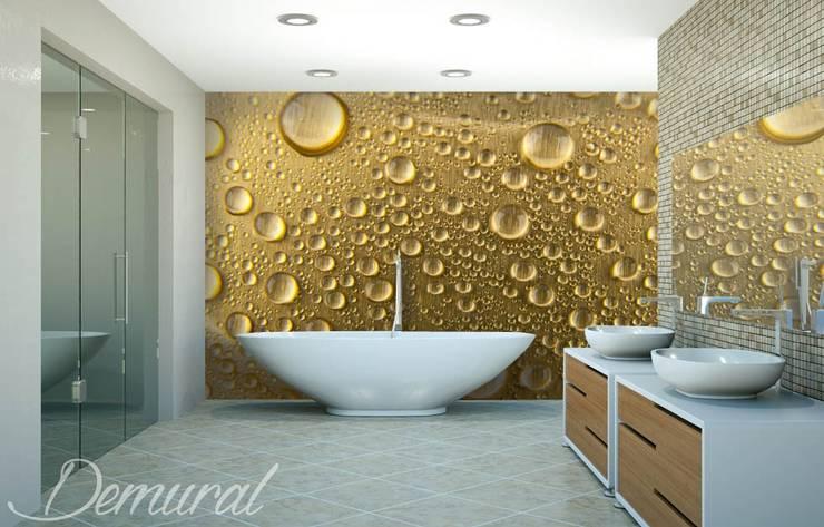 Kąpiel w piance: styl , w kategorii Łazienka zaprojektowany przez Demural.pl,Nowoczesny