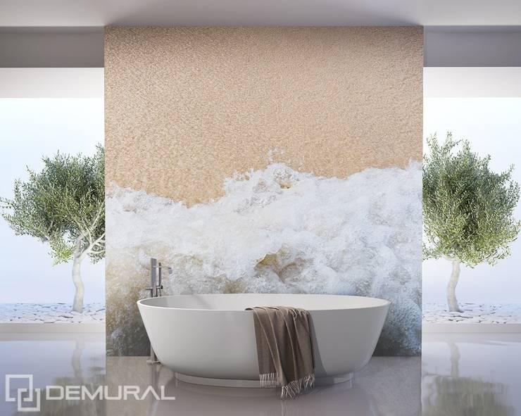 Morska bryza: styl , w kategorii Łazienka zaprojektowany przez Demural.pl