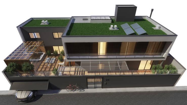 CASA SJ: Casas  por AF Arquitetura,