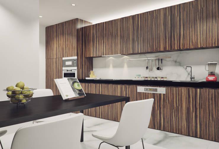 Cocinas de estilo  de ASVS Arquitectos Associados