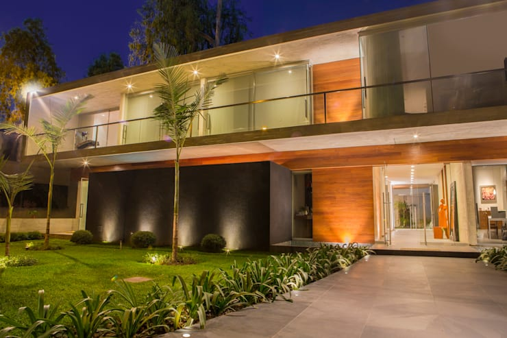 Casas de estilo moderno por DLPS Arquitectos