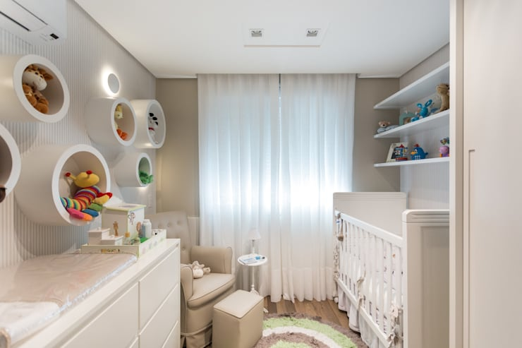 Habitaciones infantiles de estilo  por Pura!Arquitetura