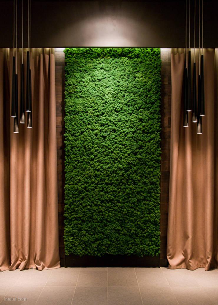 RESTAURACJA RIVERSIDE, UKRAINA, PRODUKT: MOSS TREND: styl , w kategorii Hotele zaprojektowany przez BandIt Design,Eklektyczny