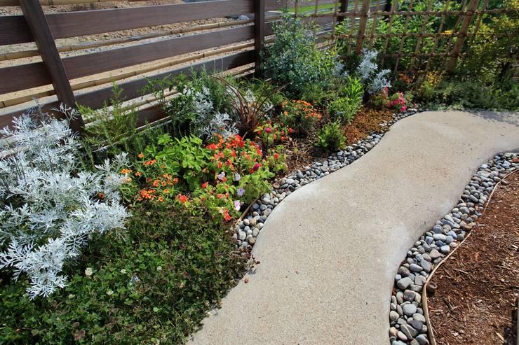 三本松でONな庭 - 写真02: 平山庭店が手掛けた庭です。