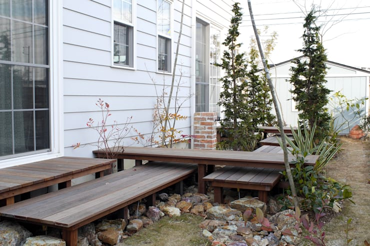 段・段・団らんな庭 - 写真01: 平山庭店が手掛けた庭です。