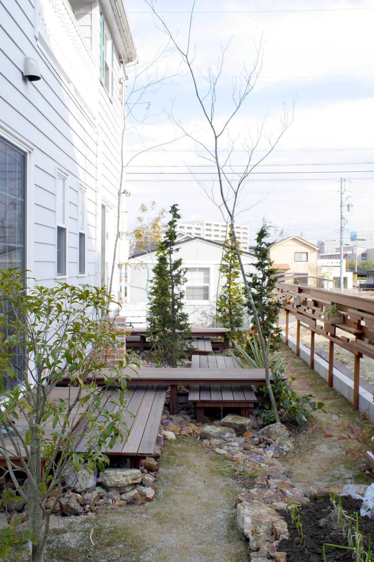 段・段・団らんな庭 - 写真02: 平山庭店が手掛けた庭です。