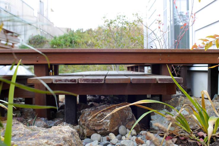 段・段・団らんな庭 - 写真05: 平山庭店が手掛けた庭です。