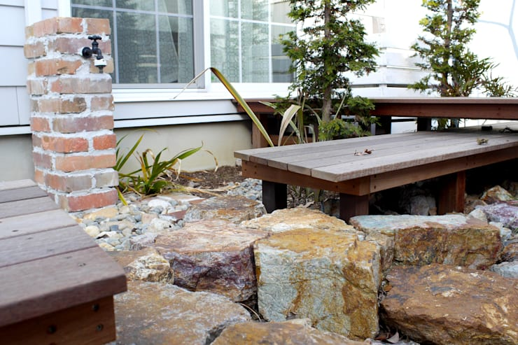段・段・団らんな庭 - 写真08: 平山庭店が手掛けた庭です。