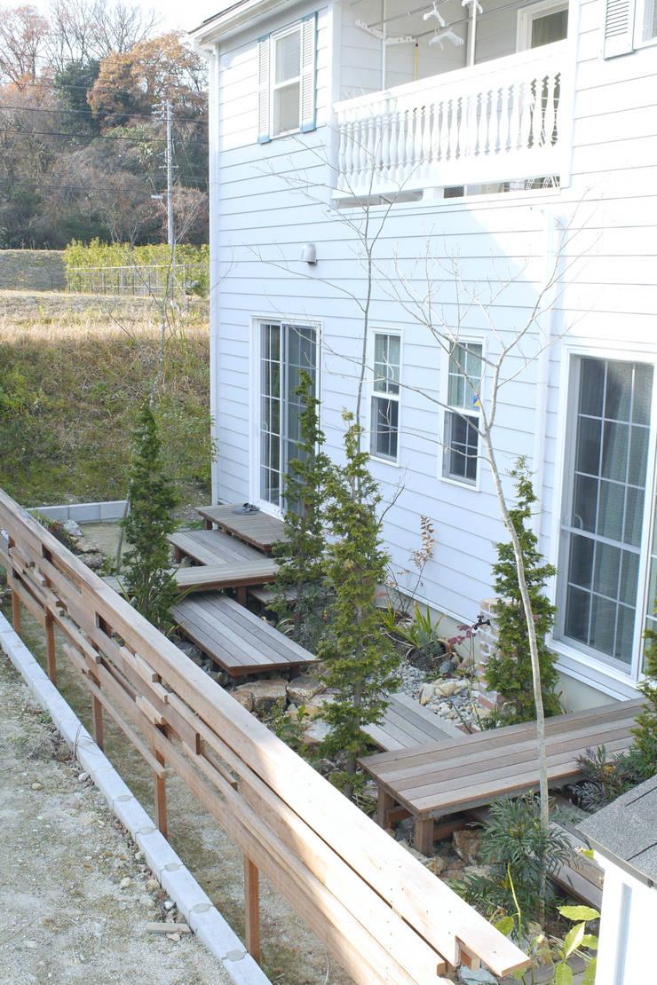 段・段・団らんな庭 - 写真09: 平山庭店が手掛けた庭です。