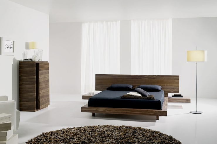 Mobiliário de quarto Bedroom furniture www.intense-mobiliario.com  Aragon AMB14 http://intense-mobiliario.com/product.php?id_product=8950: Quarto  por Intense mobiliário e interiores;