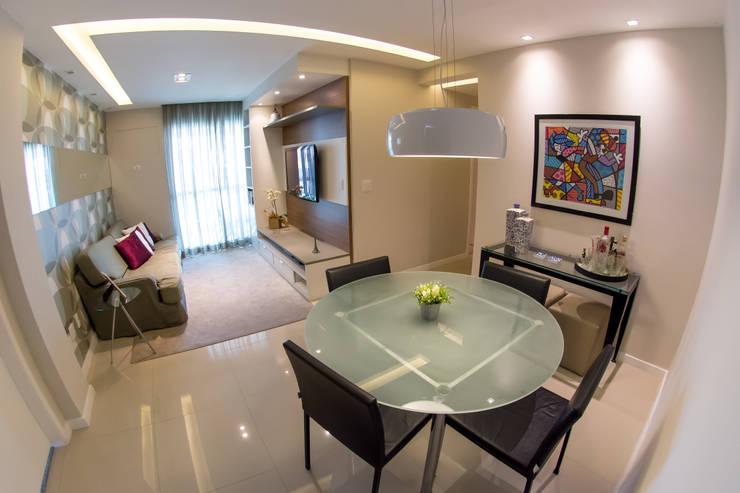 Sala de Jantar : Salas de jantar  por Millena Miranda Arquitetura