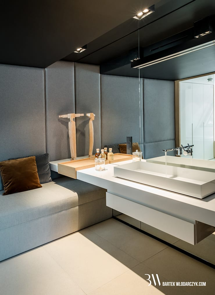Łazienka: styl , w kategorii Łazienka zaprojektowany przez Bartek Włodarczyk Architekt,Nowoczesny