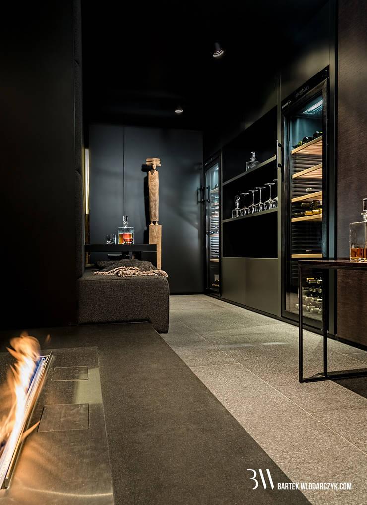 Aneks: styl , w kategorii Piwnica win zaprojektowany przez Bartek Włodarczyk Architekt