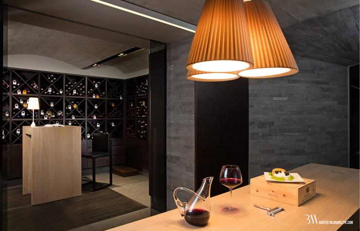 Winiarnia: styl , w kategorii Piwnica win zaprojektowany przez Bartek Włodarczyk Architekt