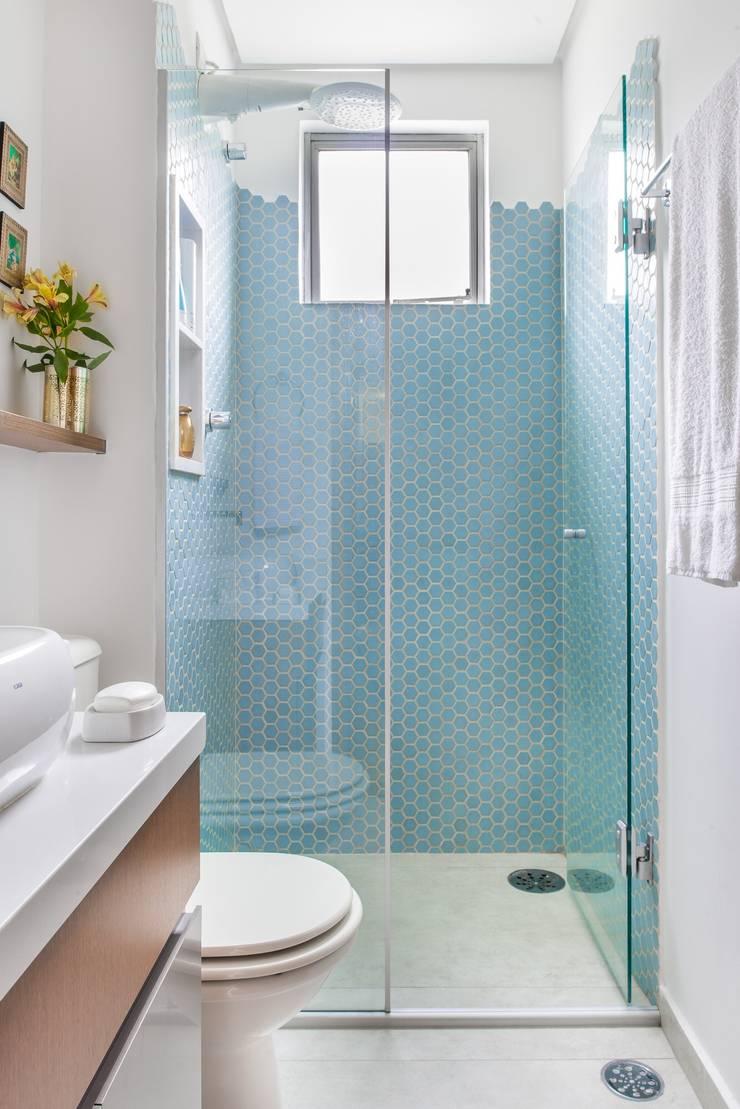 Ванные комнаты в . Автор – Alma em Design, Рустикальный