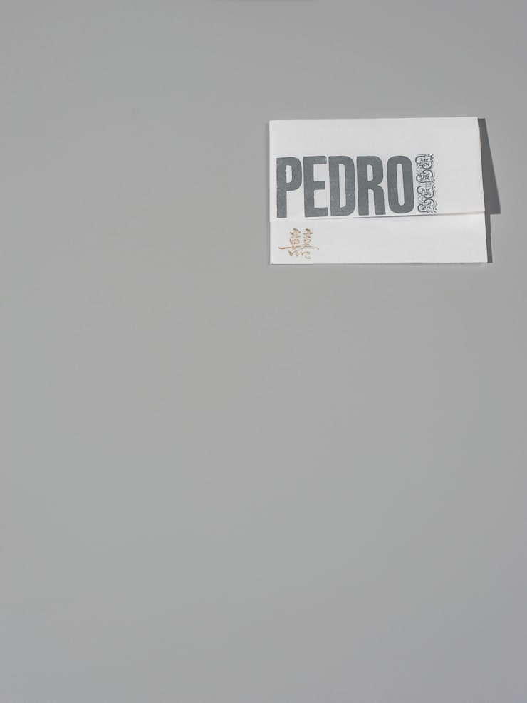 Convite de casamento Pedro e Antje:   por Tipografia Dias