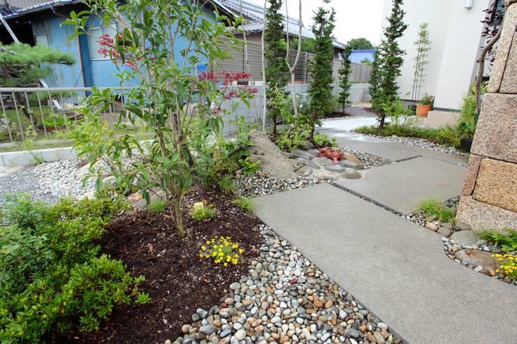 こんなクリート - 写真03: 平山庭店が手掛けた庭です。