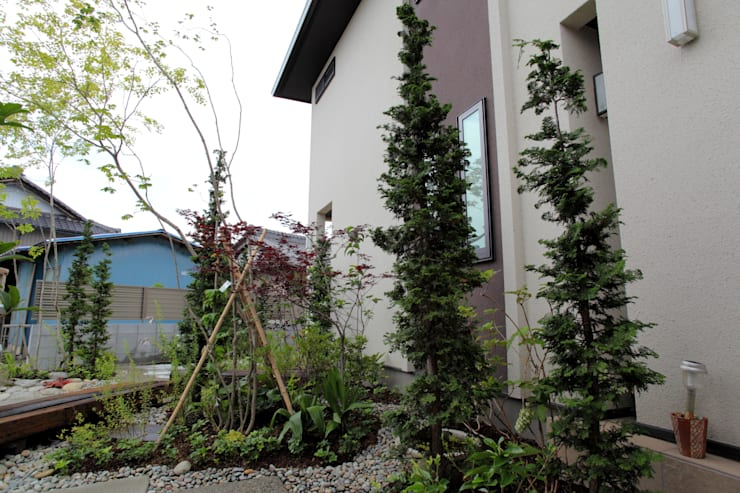 こんなクリート - 写真09: 平山庭店が手掛けた折衷的なです。,オリジナル