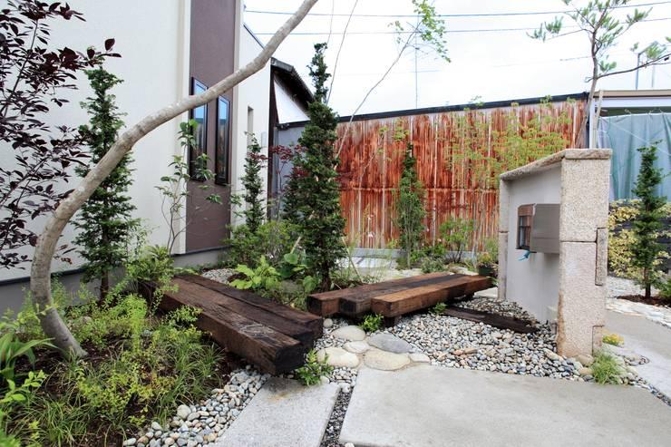 こんなクリート - 写真10: 平山庭店が手掛けた折衷的なです。,オリジナル