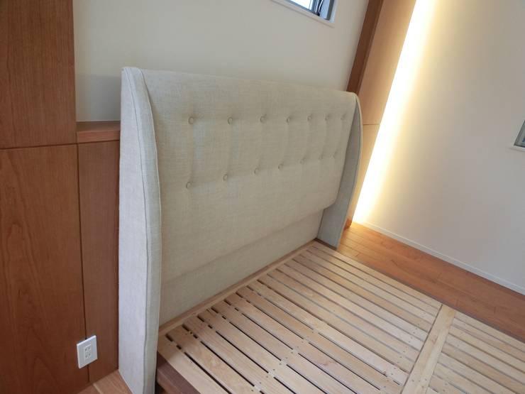 Headboard: (株)工房スタンリーズが手掛けた寝室です。,