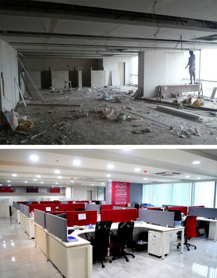 Berger Office Tranformation:   by ARETE studio