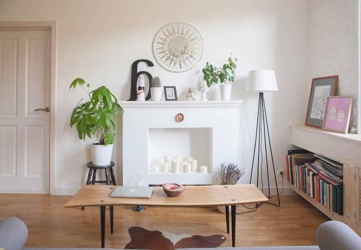 Projekty,  Salon zaprojektowane przez Mebius Group