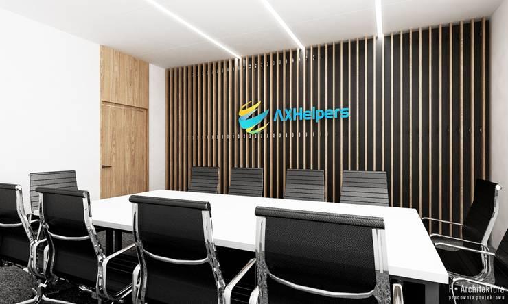 Sala Konferencyjna: styl , w kategorii Biurowce zaprojektowany przez H+ Architektura