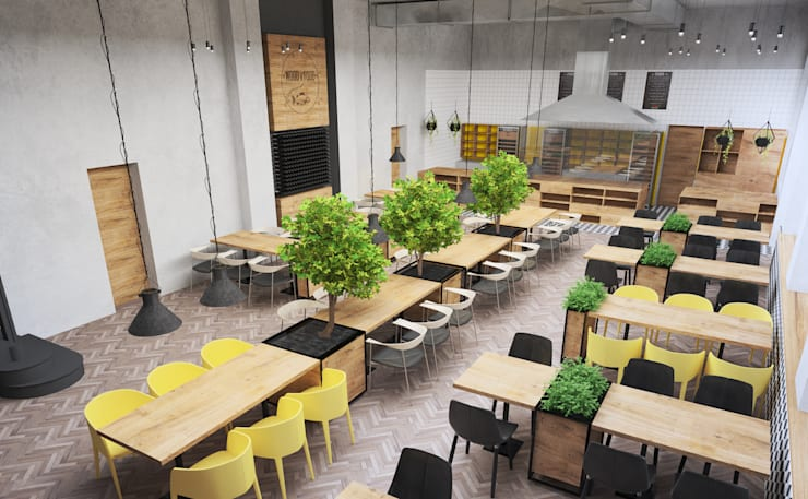 Ресторации в . Автор – ZIKZAK architects