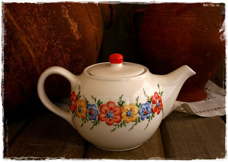 Bule de Chá p/ 4 Pessoas: Casa  por Memória Lusa