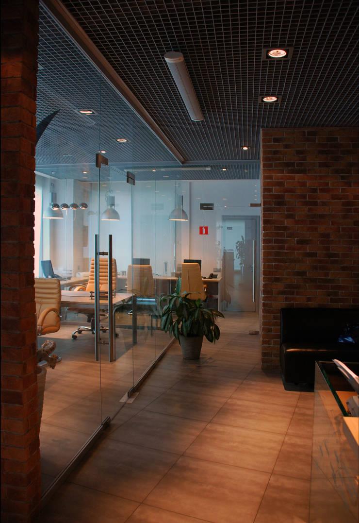 Офис на Кутузовском: Офисы и магазины в . Автор – Дизайн-студия «ARTof3L»,