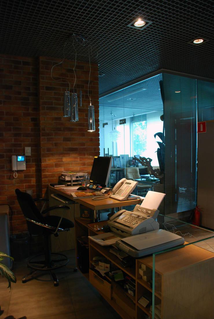 Офис на Кутузовском: Офисы и магазины в . Автор – Дизайн-студия «ARTof3L»