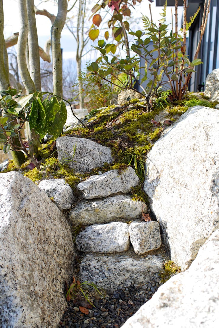 うつくしこむ庭 - 写真05: 平山庭店が手掛けた庭です。