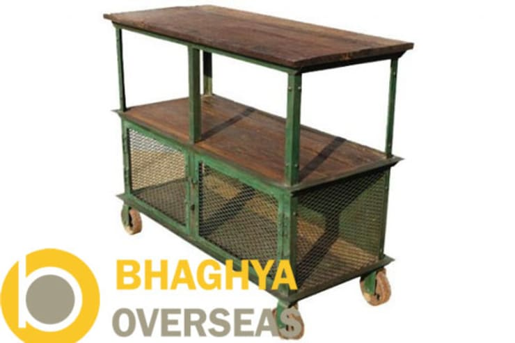 INDUSTRIAL TROLLY:  Kitchen by BHAGHYA OVERSEAS