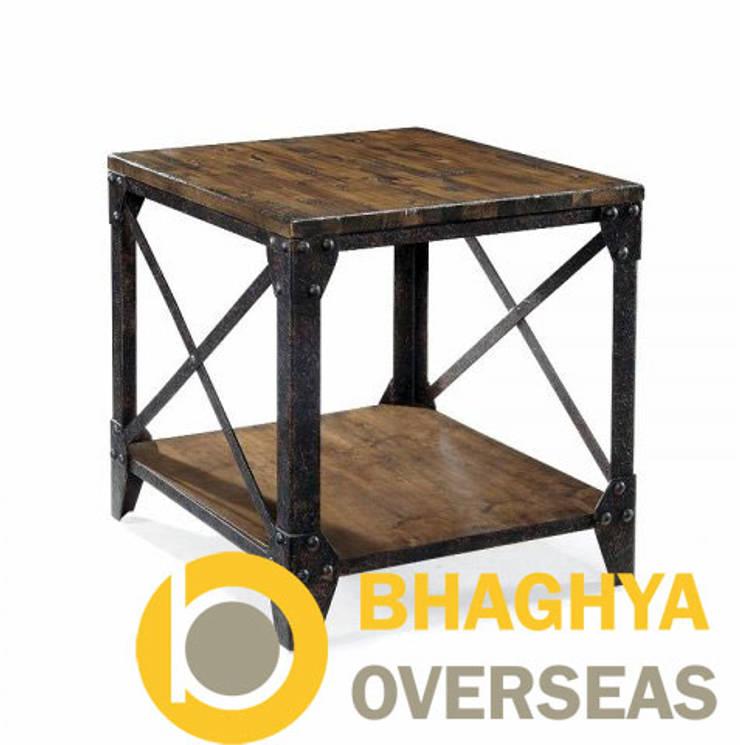 INDUSTRIAL SIDE BOARD: industrial Bedroom by BHAGHYA OVERSEAS