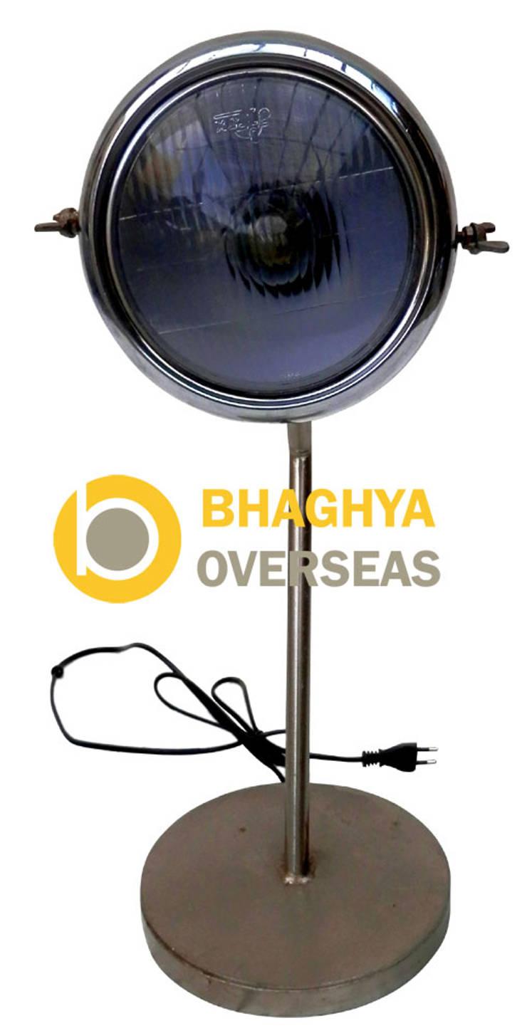 industrial lamp: industrial Living room by BHAGHYA OVERSEAS
