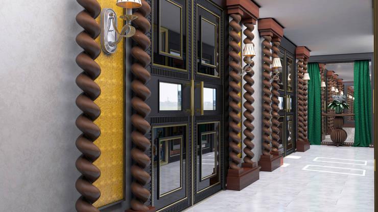 Mimar Melike Topal  – İç kapı detayı:  tarz
