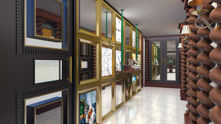 Mimar Melike Topal  – Antre duvarı:  tarz